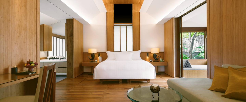 Chiva-Som Thai Pavilion Suite Bedroom