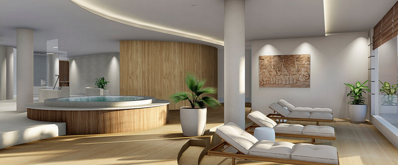 Chiva-Som Spa Area Rendering
