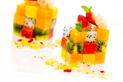 Fresh smoothies at Taste of Siam restaurant | Chiva-Som Hua Hin
