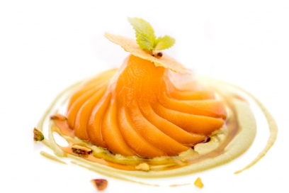 Pear and poached prunes | delicious dessert without added sugar | Chiva-Som Hua Hin