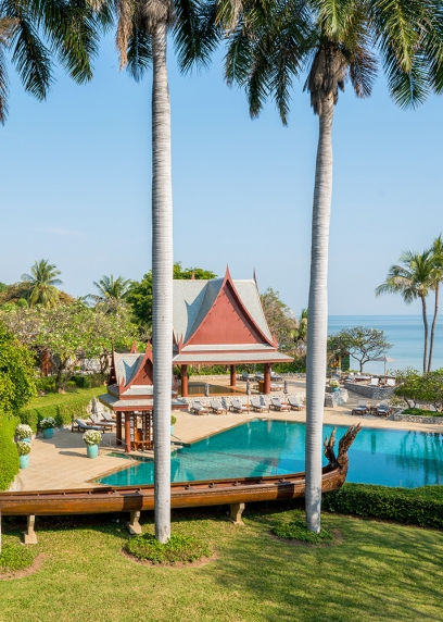 Chiva-Som Hua Hin Pools Outdoor