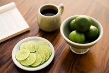 Chiva-Som Morning Tea and Lime